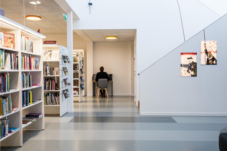 Meer Zweedse Inspiratie : Openbare bibliotheek krokoms zweden